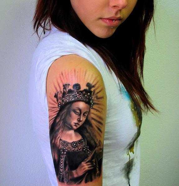 تاتوی سیاه و خاکستری تاتوی سیاه و خاکستری سبک تاتوی سیاه و خاکستری A039 andreaafferni seminars seminar tattoo tattoos tatuaggi portrait ritratto realism