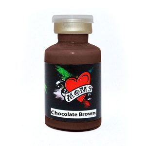 chocolate-brown