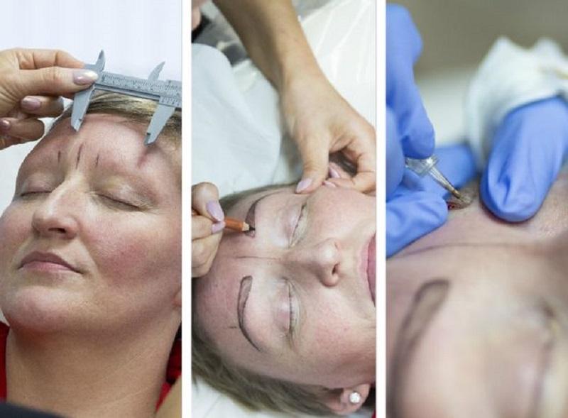 Eyebrow caliper کولیس ابرو کولیس ابرو 10