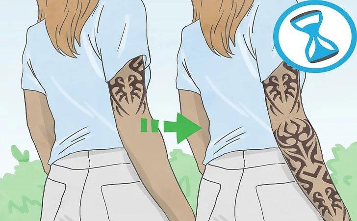طراحی تاتو آستینی طراحی تاتو آستینی طراحی تاتو آستینی tatoo2 2